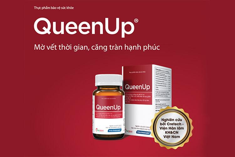 QueenUp - Hỗ trợ tăng cường nội tiết tố nữ giúp điều hòa kinh nguyệt 1